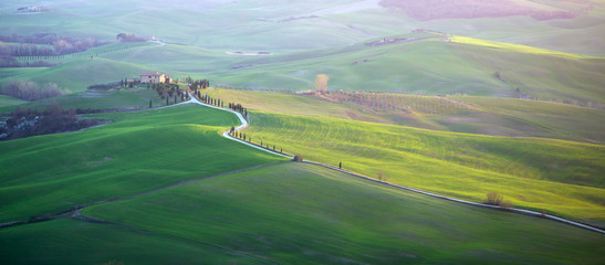 Val d'Orcia in Tuscany