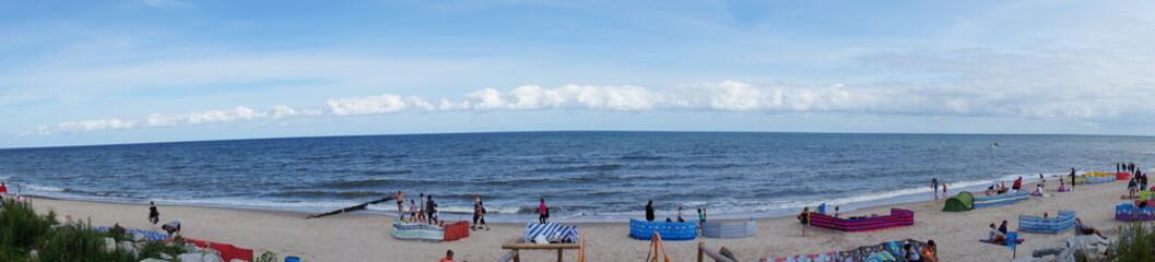 Fototapeta plaża panorama obraz