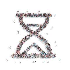 people  shape  hourglass group