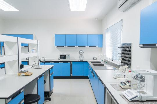 Science modern lab interior architecture.