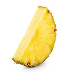 One pineapple slice