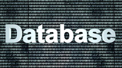 Binary Database background.