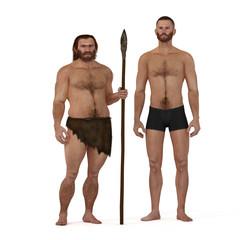 Neanderthal vs modern human