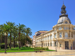 City hall of Cartagena in Spain