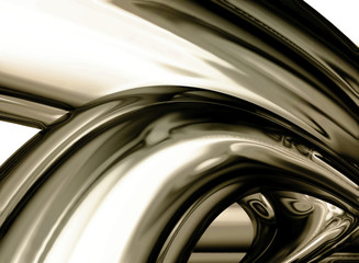 abstract chrome