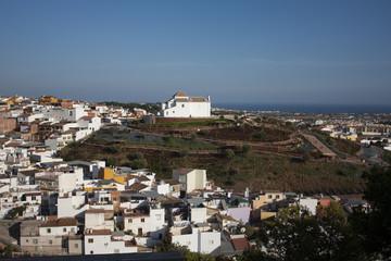Panorámica de la ciudad de Vélez Málaga