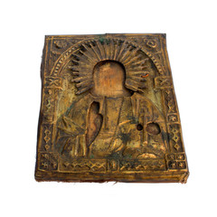 Antique Russian orthodox icon