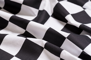 A checkered flag background - motor racing - symbol for winning