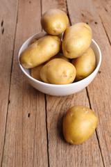 Potatoes in bowl