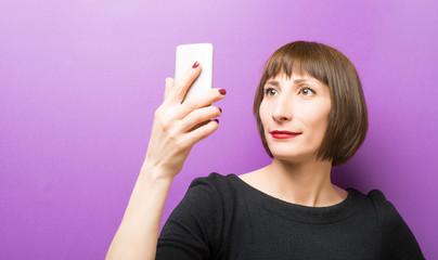 Self portrait of a woman