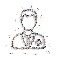 people shape  medical staff