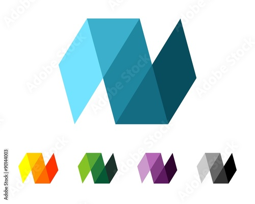 origami n letter