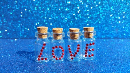 small vials love