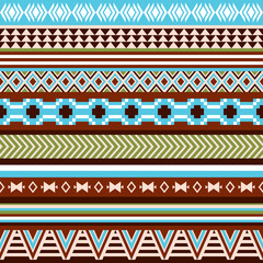 Seamless ethnic indian pattern