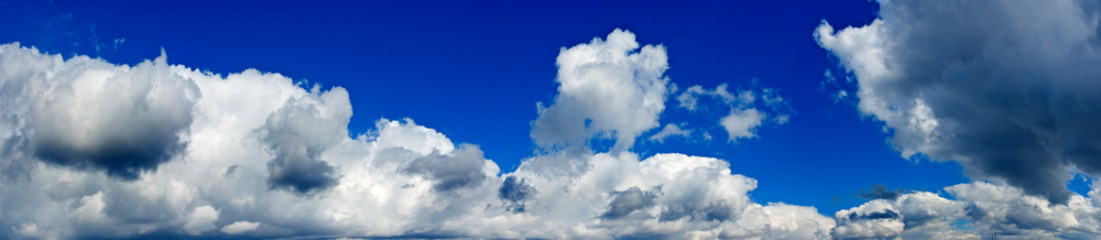 image  of blue sky with clouds