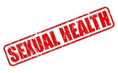 SEXUAL HEALTH red stamp text