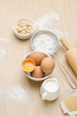 Food ingredient for baking