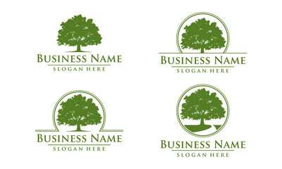 oak, tree, logo