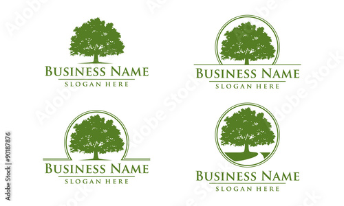 Oak Tree Logo Stock Image And Royalty Free Vector Files On