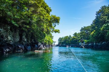 Soesokkak Estuary,The Nature of Jeju Island in Korea  セソカク,韓国済州島の自然