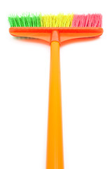 mop on a white background