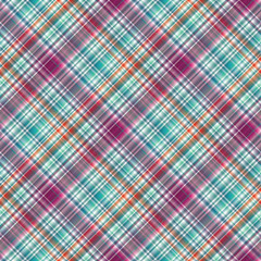 Abstrcat geometric tartan  pattern. Seamless fabric texture collection. Material background