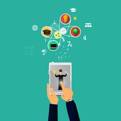 online education, online learning