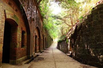 要塞の廃墟 和歌山友ヶ島