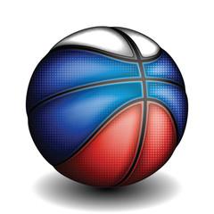 Russian basket ball, vector