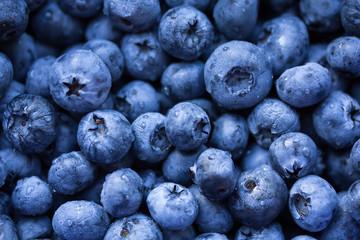 Fresh ripe bilberry background
