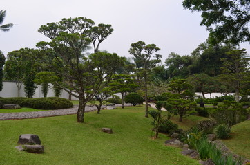 Park - garden with Path to the Pond