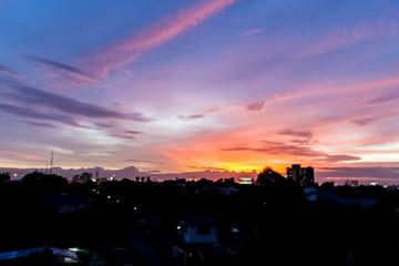 Light the evening sky 3