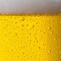 golden beer texture background