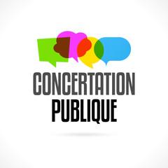 Concertation publique