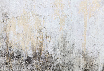 Old painted wall damage surface