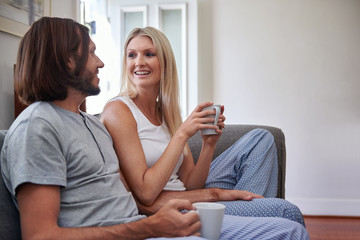 lifestyle couple at home
