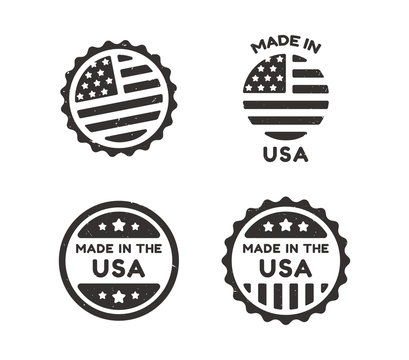 Made in USA vintage labels