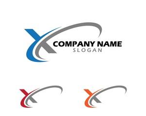 X swoosh logo 2
