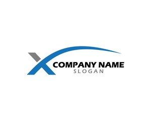 X swoosh logo 3