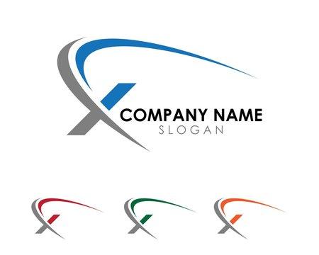 X Swoosh logo 1