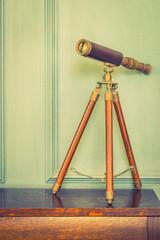 Vintage binocular lens