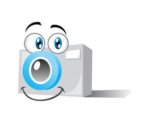 smiling camera
