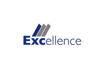 excellence vector Logo on white