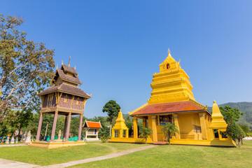 Ancient Buddha statue at Wat Pho Chai