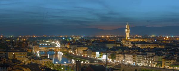 Fototapete - Panorama of Florence, Tuscany, Italy