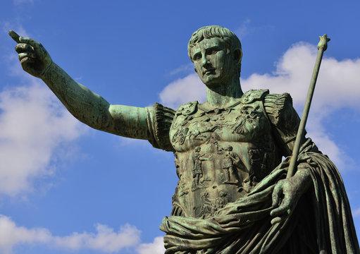 Caesar Augustus first emperor of Ancient Rome