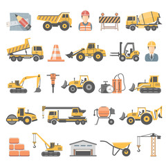 Flat Icons - Construction