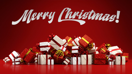 Merry Christmas with many gifts