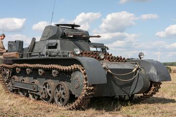 Czołg z okresu II Wojny Światowej