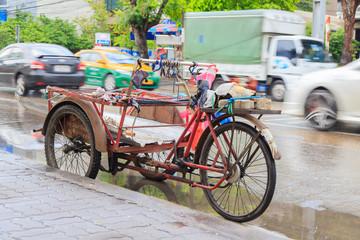 Pedicab in thai